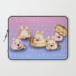 Revenge of the dim sum bunny buns Laptop Sleeve