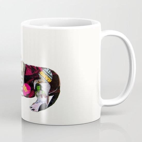 dachshund graffiti Mug
