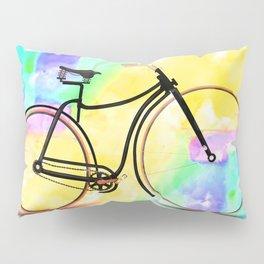 Pedal-driven beauty Pillow Sham