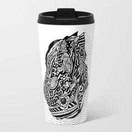 Hong Kong Dim Sum Wonton Doodle in BW Travel Mug