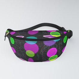 Floating Circles Fanny Pack