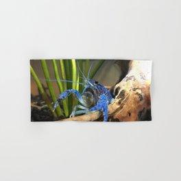 Blue crayfish Hand & Bath Towel