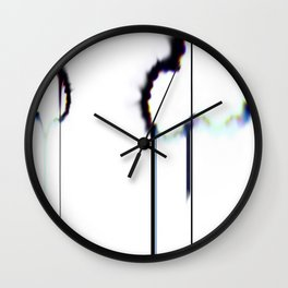 Burnt Spctrm Wall Clock
