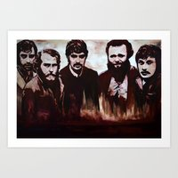 band Art Prints featuring Band by lyneth Morgan