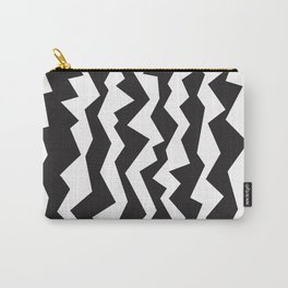 80s Zigzag Carry-All Pouch