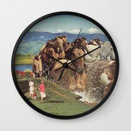 Stampede Wall Clock