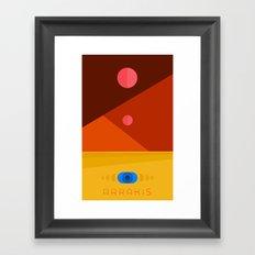DUNE: ARRAKIS Framed Art Print