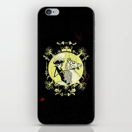 Count Dracula (yellow) iPhone Skin