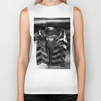 games Biker Tanks featuring Head Games by Jaz Henry