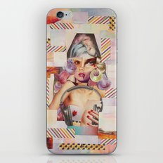 Rainbow Girl iPhone & iPod Skin