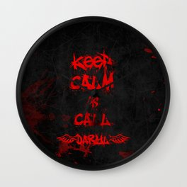Keep Calm & Call Daryl Dixon!!! Wall Clock