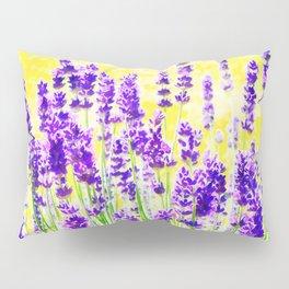 Lavender Watercolor Pillow Sham