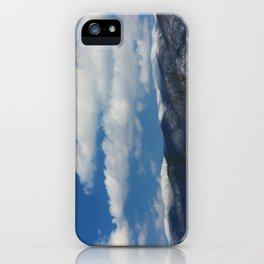 Holston Mountain Snowcaps iPhone Case