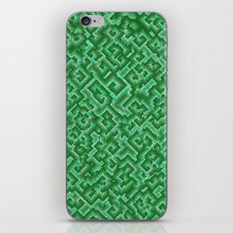 Complexity in green iPhone Skin