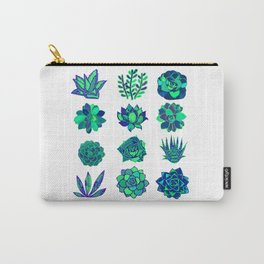 Succulents Art Carry-All Pouch