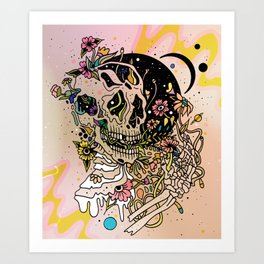 TEEMING Art Print