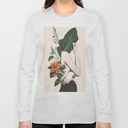 natural beauty-collage 2 Long Sleeve T-shirt