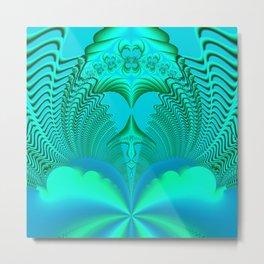 Fractal Abstract 74 Metal Print