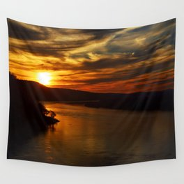 Chickies Sunset  Wall Tapestry