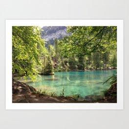 Blausee, Switzerland - Landscape Photography Art Print