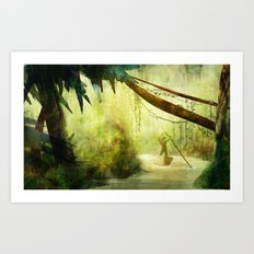 Morning Stroll Art Print