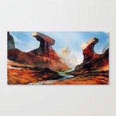 Canyon Temple  Canvas Print