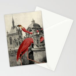 NUMBER 17 (FLAMINGO) Stationery Cards