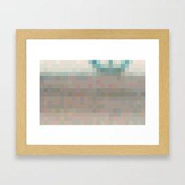 ABSTRACT PIXELS #0016 Framed Art Print