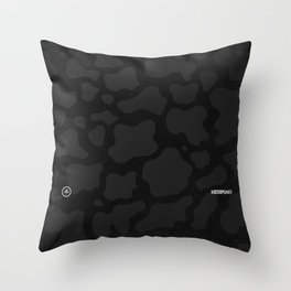 Lunar Camo Throw Pillow