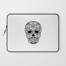 Mexican Skull - White Edition Laptop Sleeve