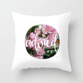 Adored - Botanical  |  The Dot Collection Throw Pillow