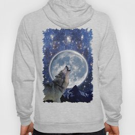 A One Wolf Moon Hoody