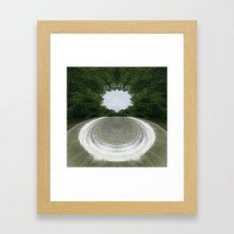 Spillway Framed Art Print