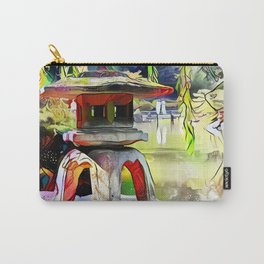 Peaceful Pagoda Carry-All Pouch