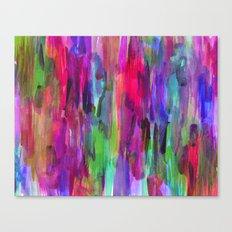 Neon Wash #2 Canvas Print