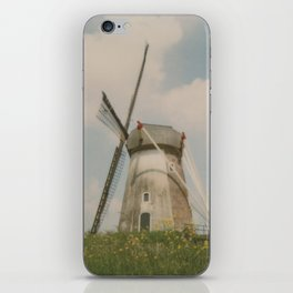 A mill in rural The Netherlands iPhone Skin