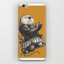 Why I Otter iPhone Skin