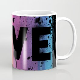 For Love - Black Background Coffee Mug