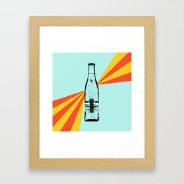 Topo Chico Retro Pop Art Framed Art Print