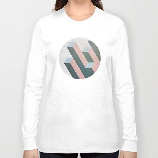 Linear Geometry Long Sleeve T-shirt