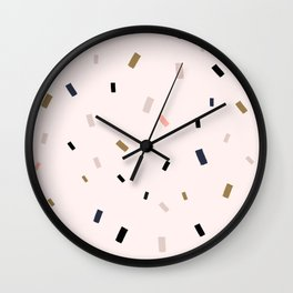 Candy Gold Wall Clock