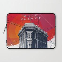 Save Detroit Laptop Sleeve