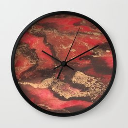 Magic And Mayhem Wall Clock