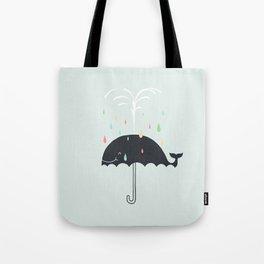 Happy Rainy Day Tote Bag