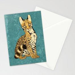 Ocelot Pun Stationery Cards