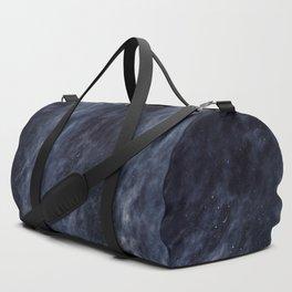 Blue Clouds, Blue Moon Duffle Bag