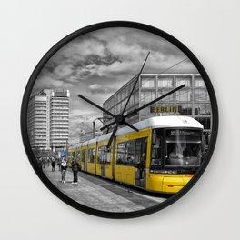 Berlin Alexanderplatz II Wall Clock