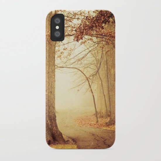 I Heard Whispering in the Woods iPhone Case