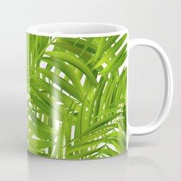 Tropical Palms Pattern Coffee Mug