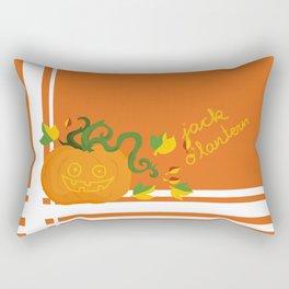 jack o´lantern Rectangular Pillow